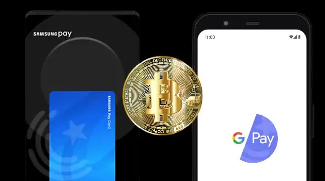 Google And Samsung support Cryptocurrency for payments
