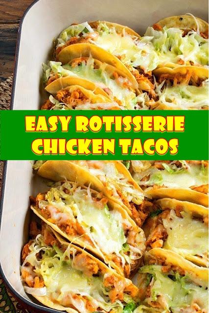 #Easy #Rotisserie #Chicken #Tacos