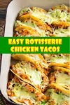 #Easy #Rotisserie #Chicken #Tacos