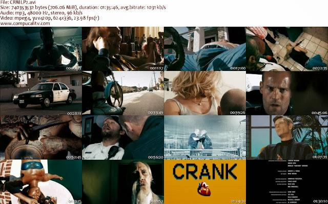 Crank 1 y 2 DVDRip Español Latino Descarga 1 Link