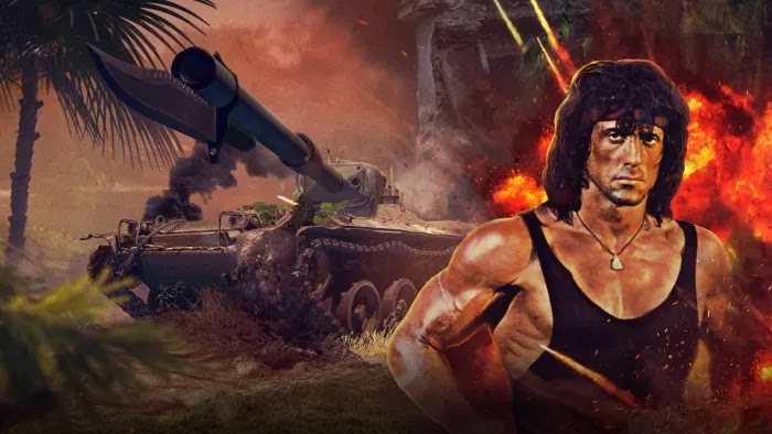 Rambo World of Tanks