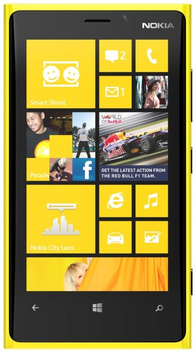 Nokia Lumia 920T headed to China Mobile's proprietary network