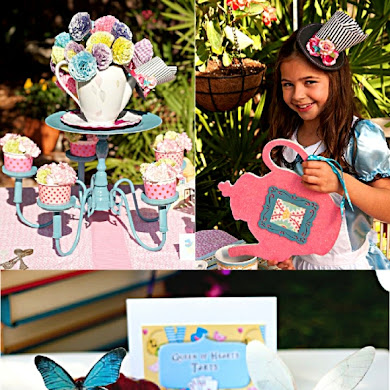 Alice in Wonderland Mad Hatter Tea Party Ideas & Printables