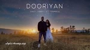 DOORIYAN LYRICS - Dino James   Rap