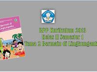 RPP Kurikulum 2013 Revisi 2017 SD/MI Kelas II Semester 1 Tema 2