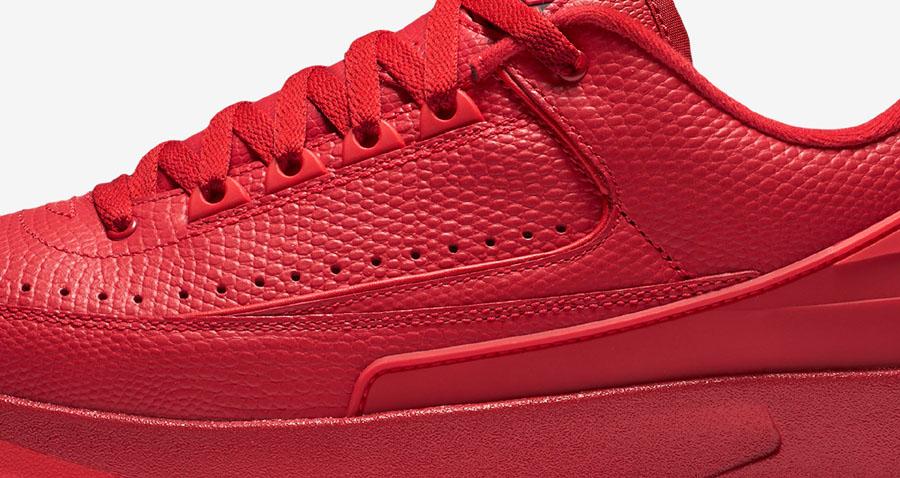 baba13dd8ee2 Air Jordan 2 Low Goes All-Red