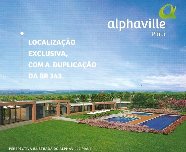 Localização Alphaville Piauí