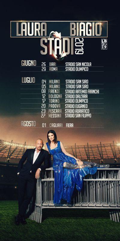 Laura Pausini e Biagio Antonacci: tour 2019 negli stadi al via da Bari. I biglietti