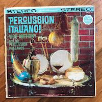 LP record: Percussion Italiano