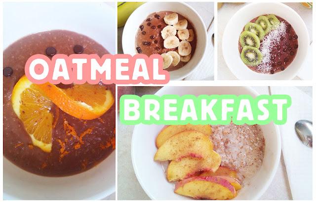 4 ιδέες για υγιεινό πρωινό με βρώμη #oatmeal