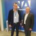 Συνάντηση του Στέργιου Τσίρκα με τον Λευτέρη Αυγενάκη στα γραφεία της Νέας Δημοκρατίας