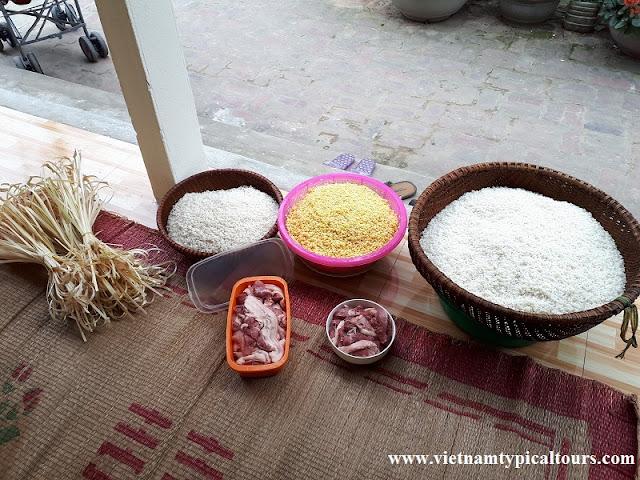 """""""Bánh Chưng"""" Recipe For Lunar New Year At Vietnam"""