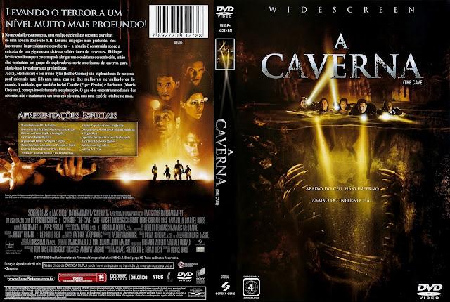 Capa DVD A Caverna