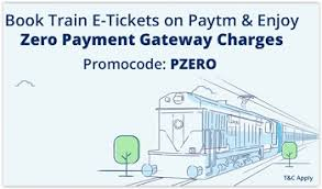 Paytm IRCTC Cashback Offer