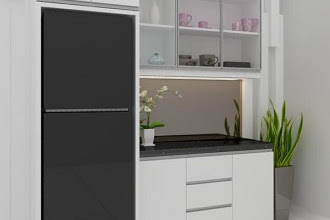 Jasa Design Pantry Cantik Murah Berkualitas
