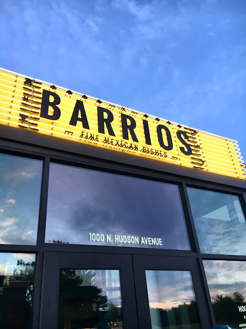 Front View of Barrio's Mexican Restaurant in OKC