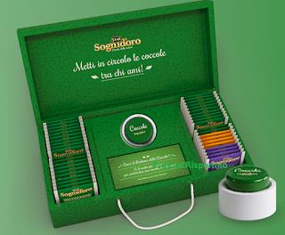 Logo Sogni D'Oro: vinci gratis 50 cofanetti con 40 filtri e un esclusivo Pouf