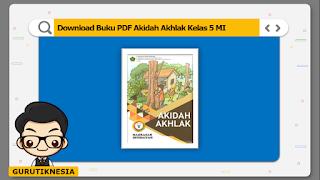 download ebook pdf  buku digital akidah akhlak kelas 5 mi