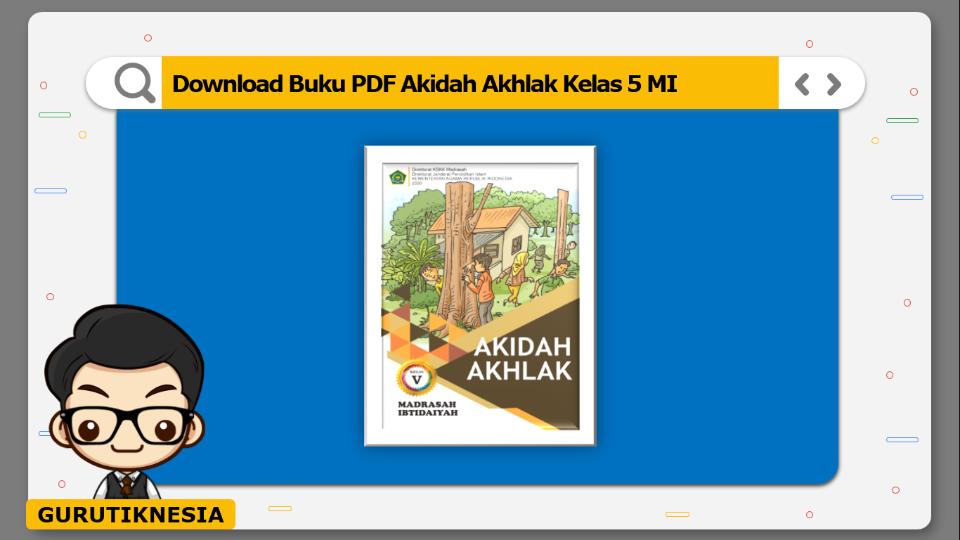 download buku pdf akidah akhlak kelas 5 mi