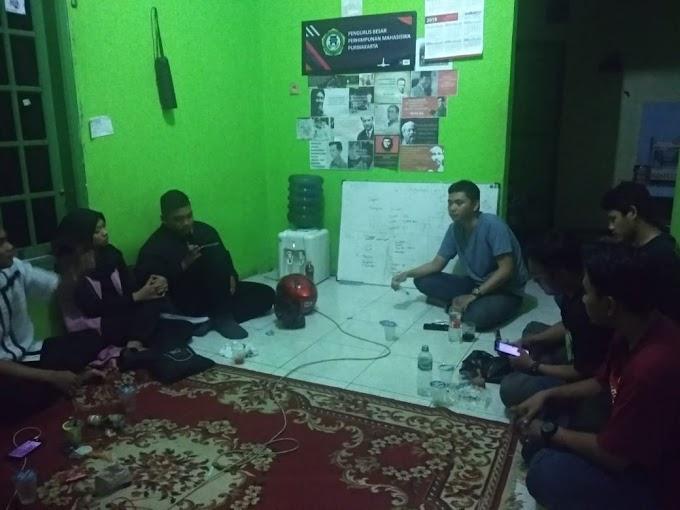 Diskusi Rutin PERMATA Cabang Purwakarta, Fadhlan: Seriuslah Dalam Berorganisasi