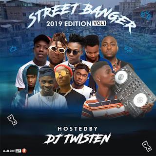 MIXTAPE: Dj Twisten - Street Banger MixTape Vo1