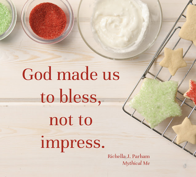 God made us to bless, not to impress