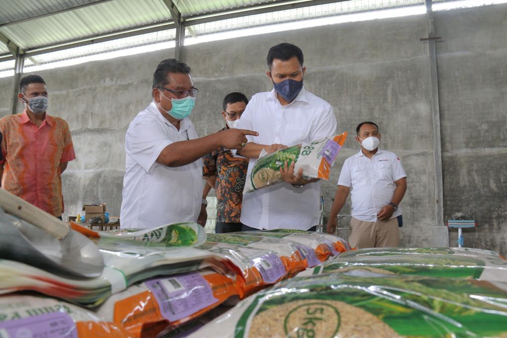Sergai Berpotensi Menjadi Lumbung Padi dan Swasembada Pangan di Sumut