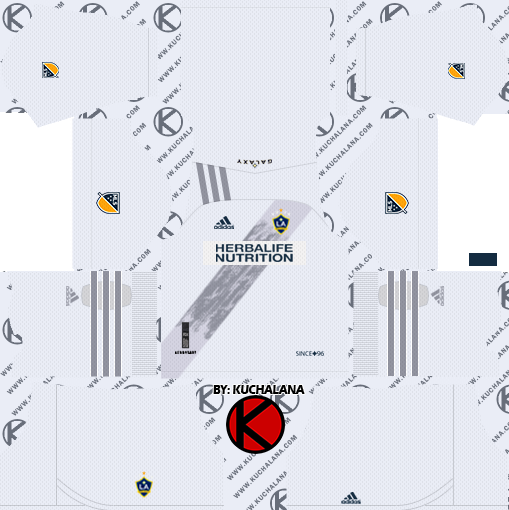 LA Galaxy 2020 Kit - Dream League Soccer Kits