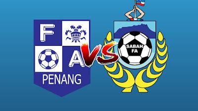 Live Streaming Pulau Pinang vs Sabah Piala Malaysia 7.8.2019