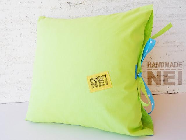 """Handmade Nel: Пачуърк калъфка за възглавница """"Даниел"""""""