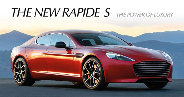 The New Rapide S The Power Of Luxury Designing A More Luxurious And More Refined Rapide Would Have Been A Phenomenal Achievement