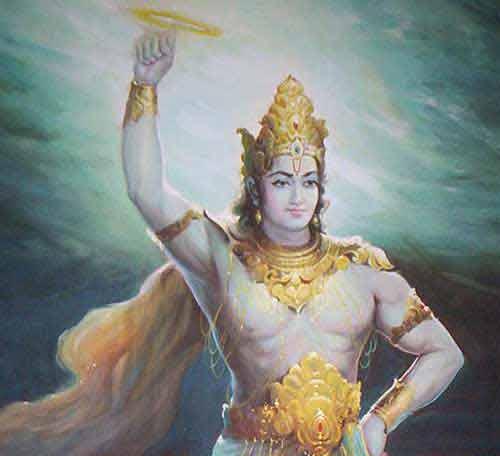 The Story of Narakasura Vadha