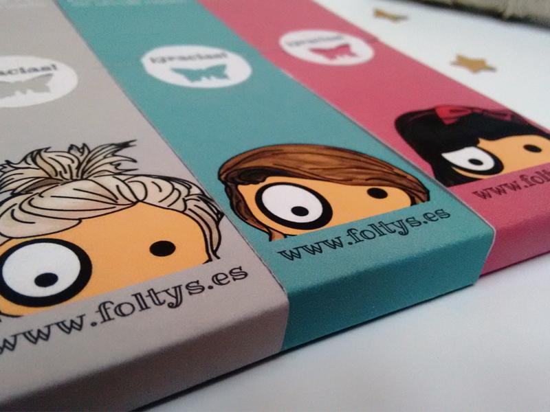 packaging libretas ilustradas foltys | foltys illustrated notebooks packaging (100% handmade with love)