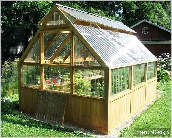 8 Functional Greenhouses Beside Your House DIY 8