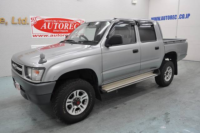 2004 Toyota Hilux Doubl Cab Pick Up 4wd Japanese Vehicles