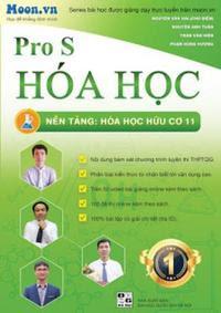 Pro S Hóa học - Nền tảng Hóa học hữu cơ 11