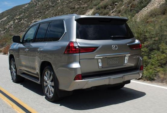 Lexus LX 570 2016 Rear View