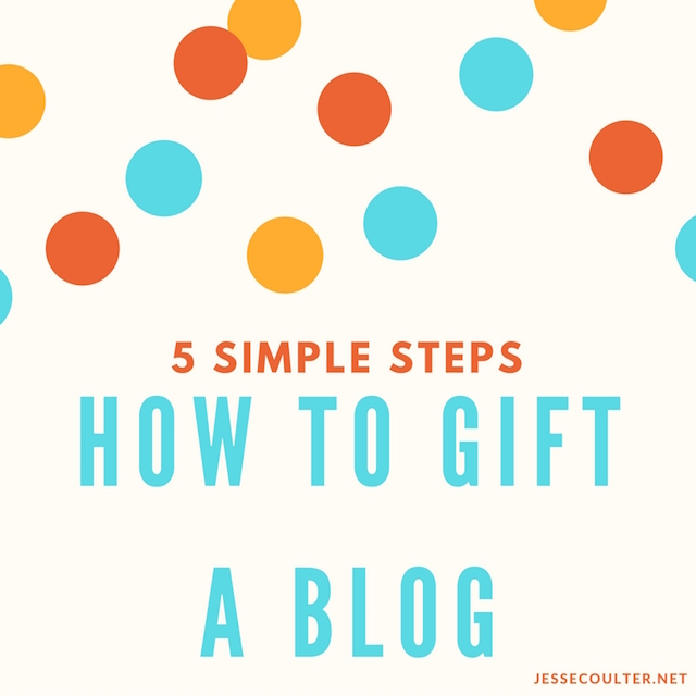 How to Gift a Blog, how to start a blog, how to set up a blog, choosing a domain name, blogger, go daddy domain, austin blogger, unique birthday gift, how to buy a domain name, how to set up a blog
