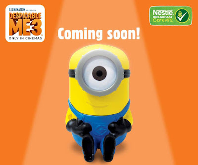 Free Minion Container Nestle Breakfast Cereals Malaysia