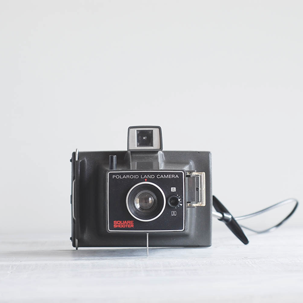 1970s Polaroid Square Shooter Camera