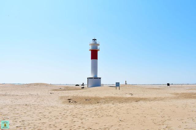 Faro de la Punta del Fangar, Delta del Ebro