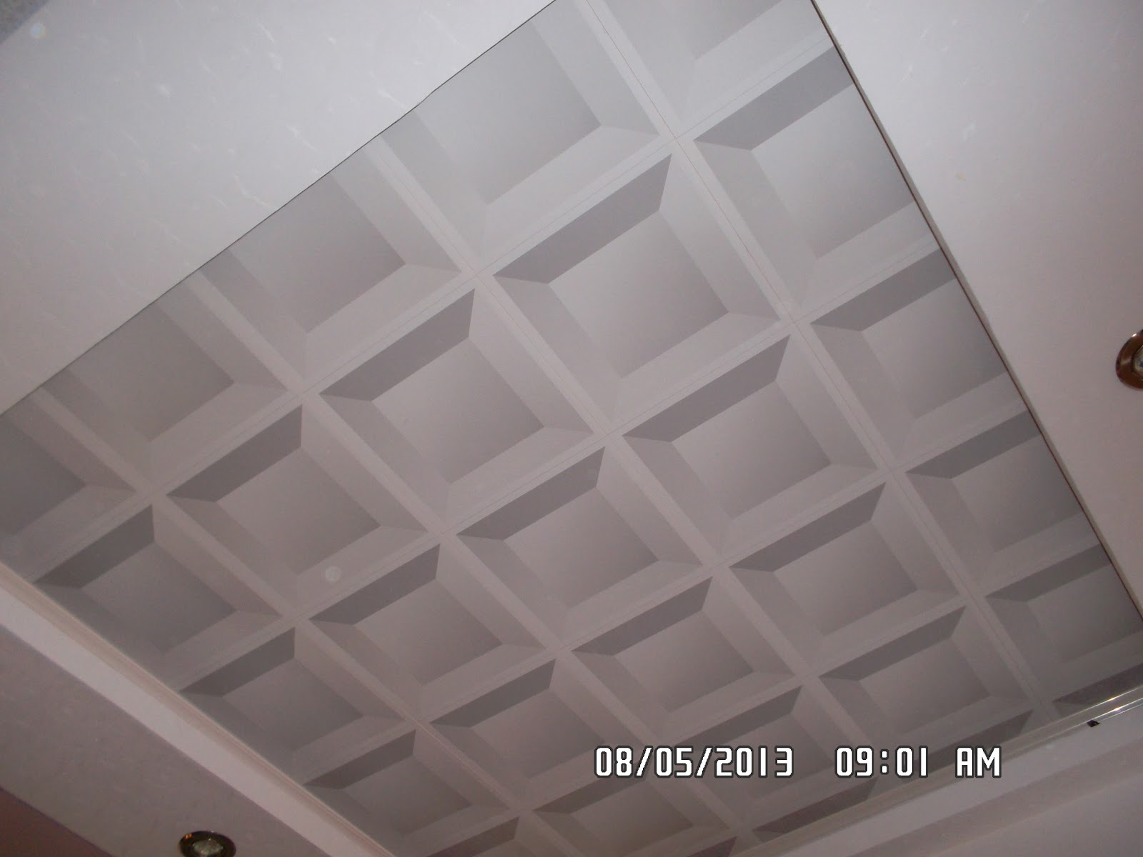 Kang Bang Lampung Plafon  PVC  Contoh Plafon  PVC  Kang Bang