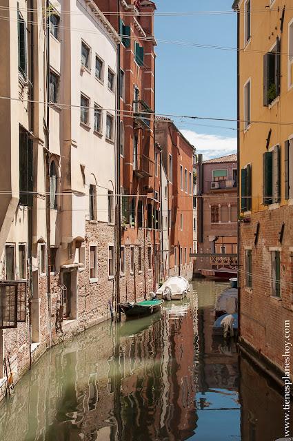 Ghetto barrio judio antiguo Europa Venecia Italia visitar viaje