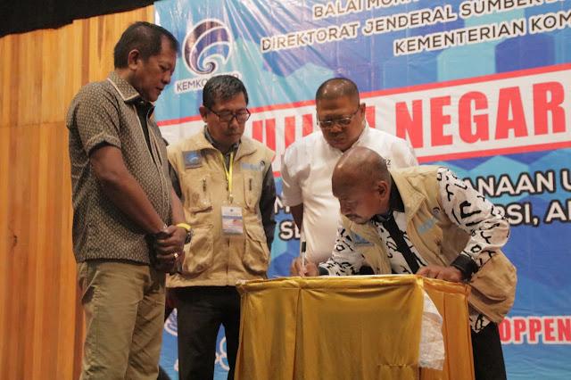 14 Kabupaten Kota Ikuti Ujian Negara Amatir Radio di Soppeng