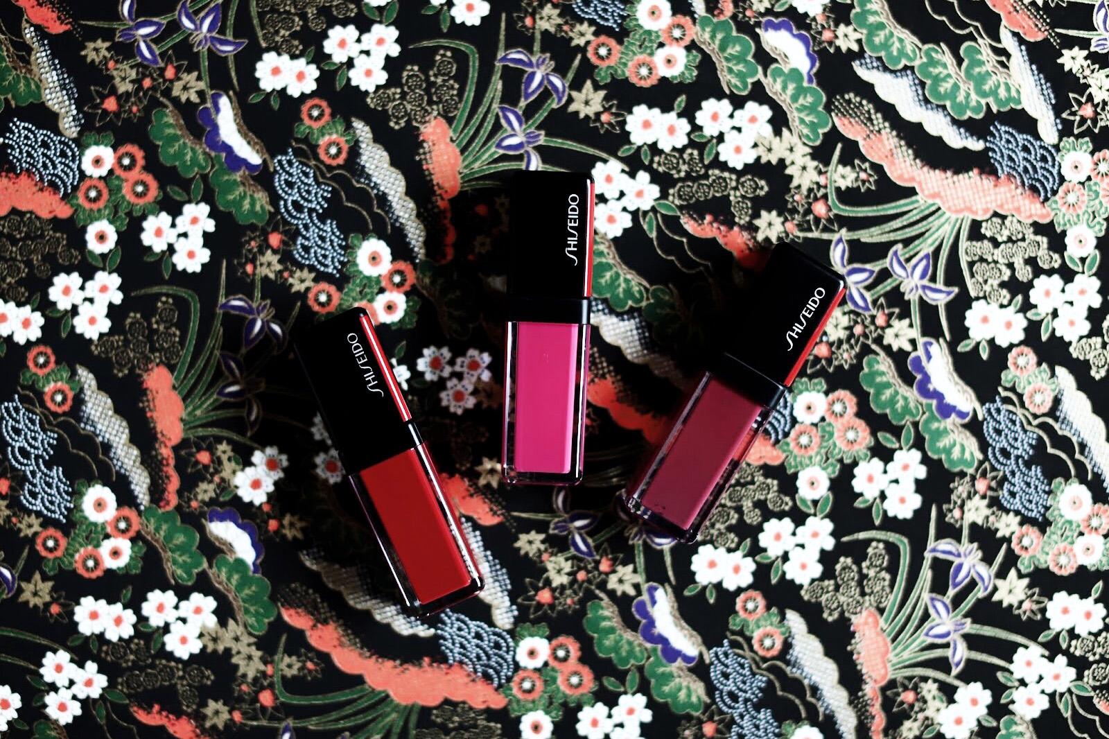 shiseido laque à lèvres avis test swatch swatches