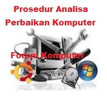 Prosedur analisa perbaikan komputer