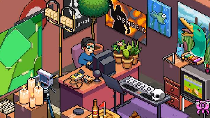 buy accessories for the room where you're recording the video