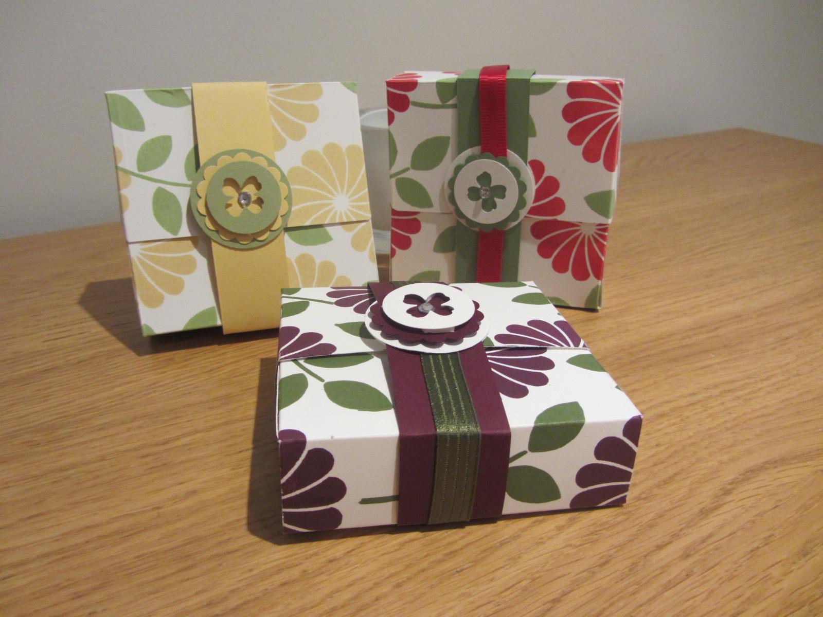 0863bc95e CraftyCarolineCreates  Flip top 3 x 3 card gift box tutorial ...