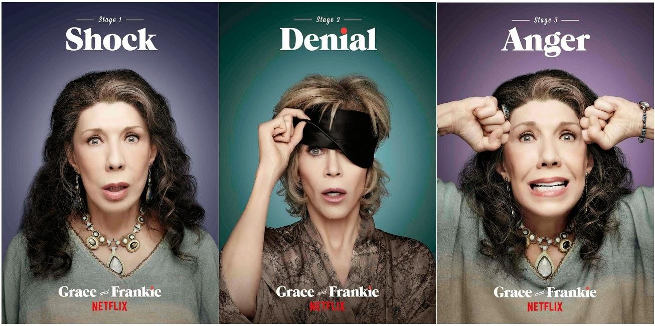 grace and frankie trailer español