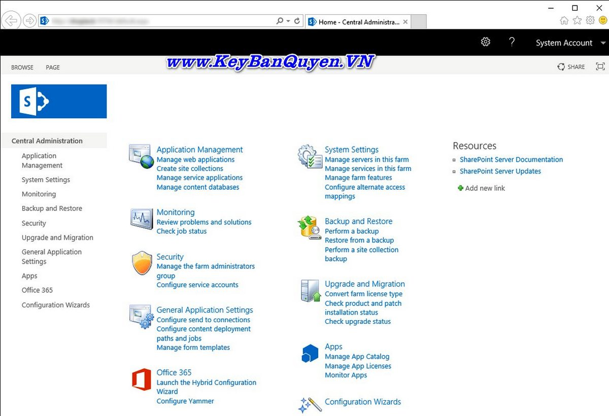Mua Bán Key bản quyền SharePoint Server 2019 Enterprise.